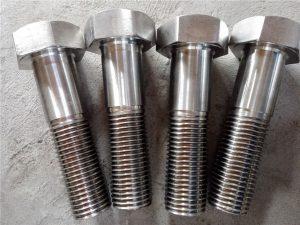 No.15-Nitronic 50 XM-19 Hex boltinn DIN931 UNS S20910