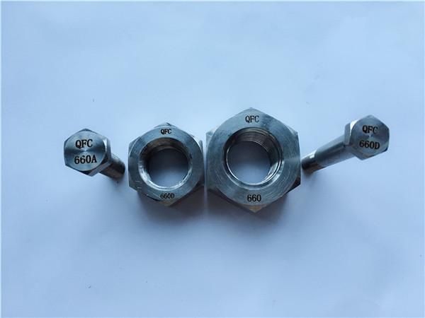 nikkel málmblöndu c22 en 2.4602 öll snittari bolta nus hastelloy c 276